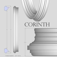 Description and specifications for Corinth 33 inch Decorative Convex Mirror or Flat Mirror from Reflecting Design. Convex Mirror, Floor Mirror, Round Mirrors, Diy Projects, Interior Design, Frame, Wall, Portal, Design Ideas