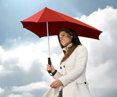 Stormproof Umbrella - An umbrella that will not turn inside out in heavy winds.