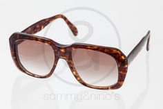 """Image of Ultra """"Goliath"""" brown 58-20 :: Vintage Sunglasses"""