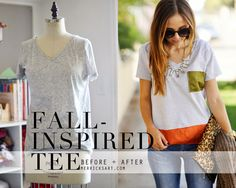 Merrick's Art // Style + Sewing for the Everyday Girl: COLOR BLOCK SWING TEE TUTORIAL