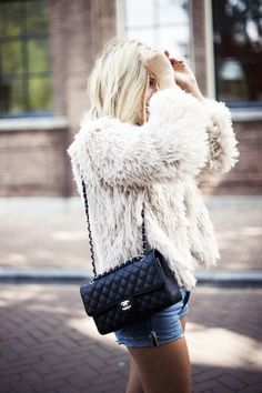 Chanel and Coat