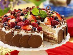 Spett med fläskytterfilé i rosépepparmarinad My Recipes, Dessert Recipes, Desserts, Grandma Cookies, Cookie Box, Fika, Food Inspiration, Cake Decorating, Cheesecake