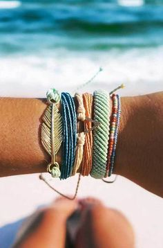 Can't wait to get my packs in the mail! use code JACKIEMASON20 for 20%off #Beach | Pura Vida Bracelets