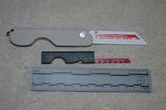 Really cool DIY folding/pocket saw made from a Sawzall blade and kydex!! Gotta make one of these!!