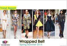 Wrapped Belt #FashionTrend for Spring Summer 2014 #spring2014 #trends #belt