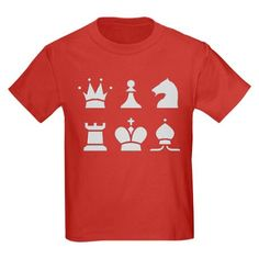 Chess shirt, simple design without board