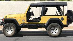 Yellow Jeep Wrangler, Jeep Wrangler Tj, Jeep Concept, Willys Wagon, Cj Jeep, Jeep Models, Project Board, Jeep Wrangler Unlimited, Guy Stuff