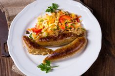 Eastern European Recipes, European Cuisine, Food Dishes, Main Dishes, Side Dishes, Homemade Sausage Recipes, Lithuanian Recipes, Smoked Fish, How To Make Sausage