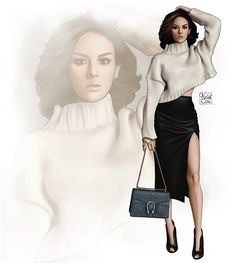 399 Likes, 13 Comments - Keidi Cole Art & Illustrations (Keidi Cole) on Instagra. Fashion Illustration Collage, Fashion Illustration Dresses, Illustration Mode, Art Illustrations, Fashion Illustrations, Fashion Design Sketchbook, Fashion Design Drawings, Fashion Sketches, Fashion Drawing Dresses