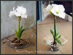 Artificial flowers designed by Svetlana Lunin.