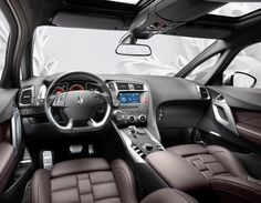 Citroen DS5 - interior, just like a plane's cockpit!