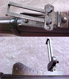1873 Springfield rear sight