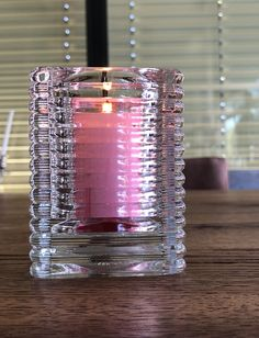 Einsatz Kerze rosa! Shot Glass, Candle Holders, Candles, Tableware, Home Decor, Pink, Dinnerware, Decoration Home, Room Decor