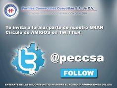 síguenos en twitter  @peccsa