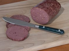 How does the sausage get made? This recipe for homemade venison sausage is simple and mess-free. Deer Bologna Recipe, Bologna Recipes, Homemade Summer Sausage, Summer Sausage Recipes, Venison Sausage Recipes, Homemade Sausage Recipes, Venison Summer Sausage Recipe Smoked, Venison Salami Recipe, Cooking Venison
