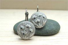 Flower Jewelry Flower Polymer Clay Jewelry Polymer por Floraljewel