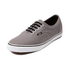 Shop for Vans LPE Skate Shoe in Steel Gray at Journeys Shoes. Shop today for the hottest brands in mens shoes and womens shoes at Journeys.com.Lo Profile Era. Its a slimmed down version of the classic Vans Era. Features include a canvas upper with contour stitching, padded collar, and vulcanized rubber outsole with micro waffle tread. Available only online at Journeys.com!