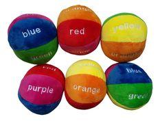 Colourful Plush Ball