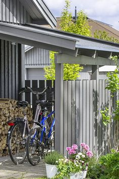 Build a real bike garage