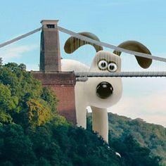 Gromit Unleashed! Clifton Suspension Bridge, Bristol, UK