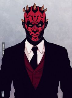 After all the shit he been through, Darth Maul deserver a new set of teeth also Darth Maul belong to Star Wars They come as runnin' just as fast as they can Star Wars Sith, Clone Wars, Star Trek, Dark Maul, Zootopia, The Best Revenge, The Force Is Strong, Maquillage Halloween, Star Wars Poster