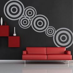 Modern Design Wall Decal Wall Stickers - Trendy Wall Designs