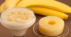 Melt Fat Like Crazy With This Magical Banana Pineapple Drink! // In need of a detox? 1 banana cup pineapple cup almond milk flax seed tsp ground ginger (or fresh grated ginger) Smoothie Drinks, Detox Drinks, Healthy Smoothies, Healthy Drinks, Healthy Snacks, Healthy Recipes, Healthy Nutrition, Drink Recipes, Pineapple Drinks