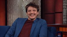 happy smile stephen colbert nervous late show giggle giddy pedro pascal trending #GIF on #Giphy via #IFTTT http://gph.is/2bHyOC9