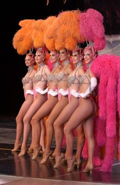 Jubilee showgirls
