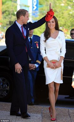 Duchess of Cambridge @Victoria Brown Brown Brown Brown Brown Dokter..They look so great together!  (Her legs are sooo perfect!  Well, she is just a very beautiful person!)