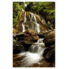 Natures Waterfall 18x24 - Scenic Wall Art