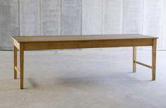 finisterre table. Belgian. oak.