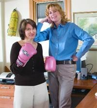 When her messy home had her on the ropes, this ADHD boxer fought back — thanks to a coach who helped her put clutter down for the count.