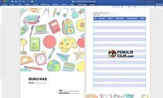 Cara Membuat Buku Kas Kelas Download Template Penulis Cilik Buku Template Berkelas