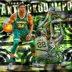 Basketball Videos, Nba Wallpapers, Western Conference, Buzzer, Nba Players, Milwaukee, Greek, Lovers, King