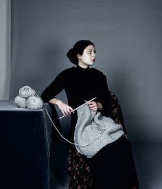 La Tricoteuse,     by Ji-Yeon Sun, Korean photographer established in Paris