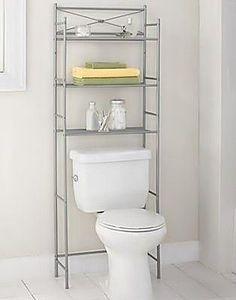 The Art Gallery Bathroom Organization Over the Toilet Storage Spacesaver Shelves Organizer u