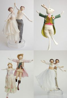 http://www.halinkasfairies.com Another thing making me happy today is the discovery of these sweet handmade fairy creations from Halinka Fraser.