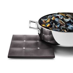 Trivet 17x17 cm, silicone, black - Eva Solo - Eva Solo - RoyalDesign.com
