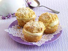 Bienenstich - innen cremig, außen knusprig - bienenstich-muffins