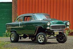 Green 55 Gasser... strutin' high!,