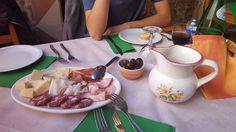 Almoço em Catania