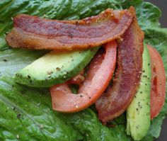 avocado blt lettuce wrap