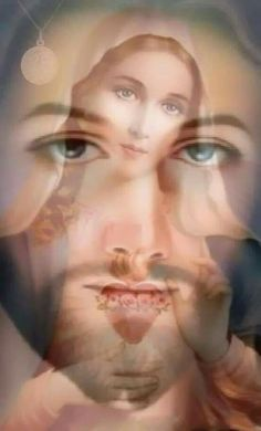 He who is Faithful, He prays for us, He knows what we need, He Does not let difficulties exceed our strength, He is the Lord Jesus. Blessed Mother Mary, Blessed Virgin Mary, Jesus Art, God Jesus, Catholic Prayers, Catholic Saints, Pictures Of Jesus Christ, Jesus Pics, Poses Photo