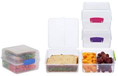 You don't want to find a squashed at the bottom of your bag. Use these lunchboxes to save you the mess and keep your lunch fresh. Canada Shopping, Online Furniture, Save Yourself, Cube, Lunch Box, Fresh, Bag, Food, Meal