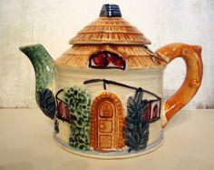 cottage teapots
