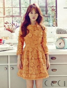 "Park Bo Young Becomes a Living Doll with ""CeCi"" Magazine 