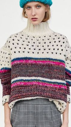 STOLL - knit and wear technology. Seamless shaping and construction. Knitting Blogs, Knitting Designs, Knitting Yarn, Chunky Knitwear, Chunky Wool, Knitwear Fashion, Knit Fashion, How To Purl Knit, Mode Style