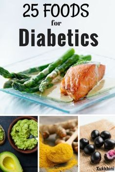 Top 25 Foods for Diabetics Including these foods for diabetics not only lowers your risk of diabetes but ward off heart disease, stroke, dementia, high blood pressure and obesity! Healthy Recipes For Diabetics, Diabetic Recipes, Low Carb Recipes, Diabetic Meal Plan, Meal Plan For Diabetics, Healthy Diabetic Meals, Diabetic Snacks Type 2, Vegetables For Diabetics, Diet Recipes
