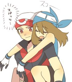 Pokemon discovered by Lyanna on We Heart It Pokemon Mew, Pokemon Manga, Pokemon Gijinka, Pokemon Ships, Pokemon Comics, Pokemon Funny, Pokemon Stuff, Pokemon Couples, Pokemon People